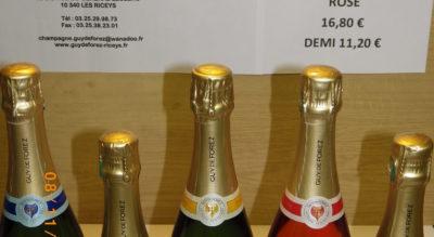 degustion champagne 8 décembre 2018