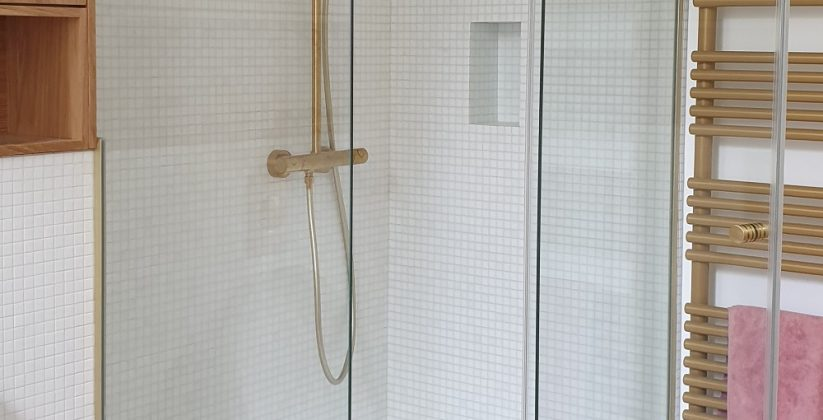 Cabine de douche - Miroiterie des Mathurins